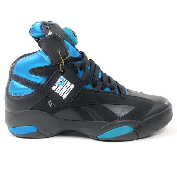 Reebok Shoes   Shaq Attaq Pump Black